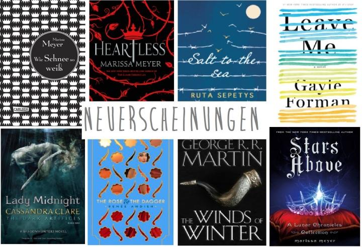 [Neuerscheinungen] Auf welche Bücher ich mich 2016 besondersfreue