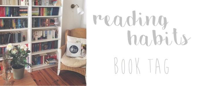 [TAG] Reading Habits BookTag