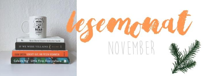 [Lesemonat] November