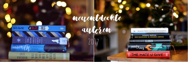 Autoren, die ich dieses Jahr für mich entdeckt habe#2